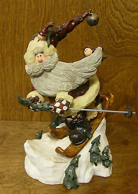 Boyds Carvers Choice #370000 SANTA...IN THE NICK OF TIME, From Retail Store. LE