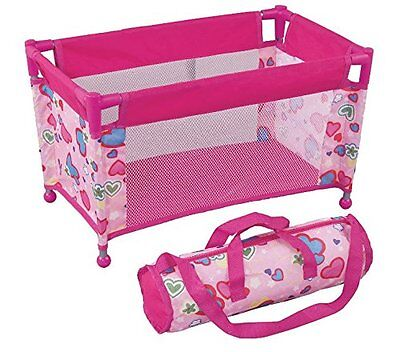 Pack N Play Pen Bed for Dolls Doll Bed Fits Any Baby Dolls and Dolls up to 18""