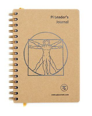 Pi Leader's Journal & Notebook - Personal weekly review, work activity and