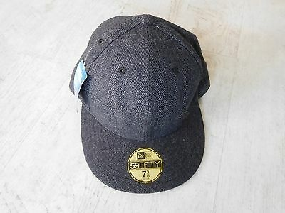 NEW - Quicksilver 59Fifty New Era Cap - Grey - Size 7 3/8 - 58.7cm