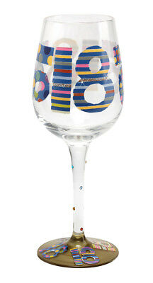 Here's To You 18th Glass (Papersalad) Birthday Wine Gift Party Novelty Fun Adult