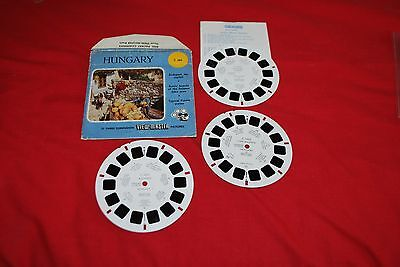 Hard To Find View Master Sawyers 3 Reel Packet Ref C 665 Hungary  As Photo