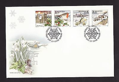1995 Isle of Man,  Christmas, First Day Cover
