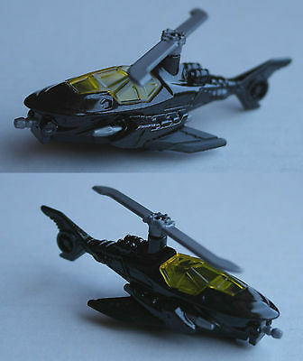 Hot Wheels - Batman Batcopter schwarz Hubschrauber