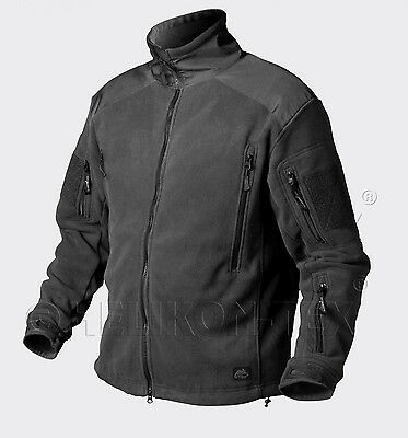 HELIKON TEX LIBERTY 390er HEAVY FLEECE JACKET OUTDOOR JACKE BLACK SCHWARZ Medium
