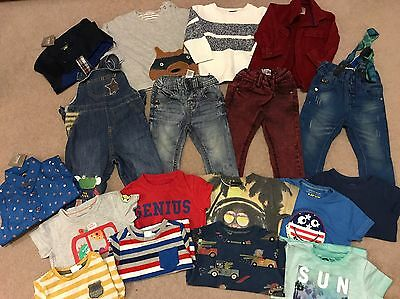 Next Bundle Of Gorgeous Lovely Baby Boy Clothes 9-12 Months