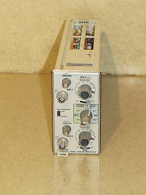 Tektronix 7A18 Dual Trace Amplifier  Plug In (C3)