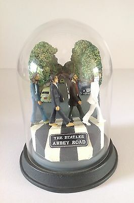 The Beatles Abbey Road Franklin Mint Limited Edition Bell Dome Jar