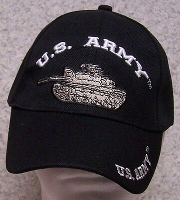 790581e8612 Embroidered Baseball Cap Military Army Armor Tank NEW 1 hat size fits all