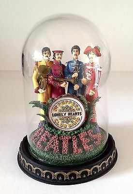 The Beatles Sergeant Pepper's Lonely Hearts Club Band Franklin Mint Ltd Edn Dome