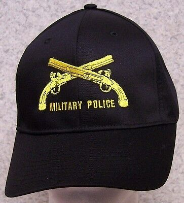 c4620b973e7 Embroidered Baseball Cap Military Police Crossed Pistols NEW 1 hat size  fits all