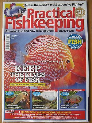 Practical Fishkeeping February 2017 Discus Fighter Dwarf Cichlids Corys Blennies