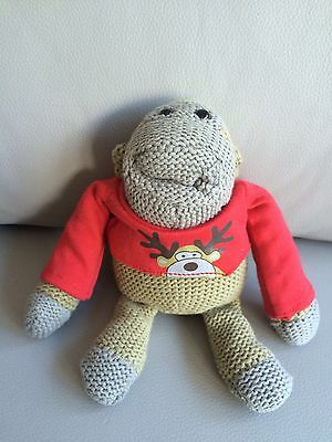 PG Tips Christmas Monkey Beanie Tea Bags Adult Collector Displayed Only