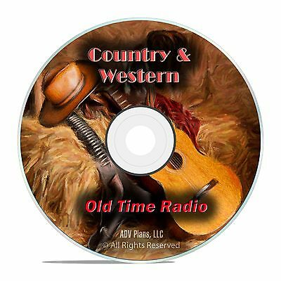 Country Western Museum - 1,134 Episodes of Old Time Radio Shows OTR, DVD CD G07