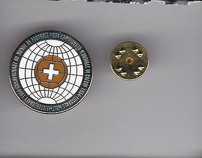 """Switzerland """" World Cup 1954 """"  - lapel badge butterfly fitting"""