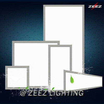 1x4 2x2 2x4(FT) 48W/72W LED Troffer Panel Light Recessed Dropped Ceiling Fixture