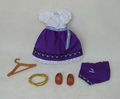 """Madeline 8"""" Doll Gypsy Outfit Clothing Set Excellent Condition!!"""