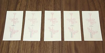 Set of 5! DEPECHE MODE official VIOLATOR promo only TRANSFER / TEMPORARY TATTOO