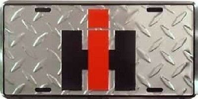International Harvester IH Aluminum Auto License Plate Car Truck Tag Metal Sign