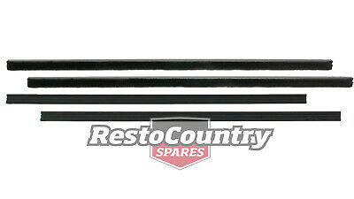 Holden Commodore Rear Door Weather Belt Rubber Strip OUTER + INNER Kit VB VC VH
