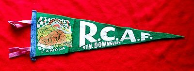RCAF Station Downsview Ontario 1950s Royal Canadian Air Force pennant msc6