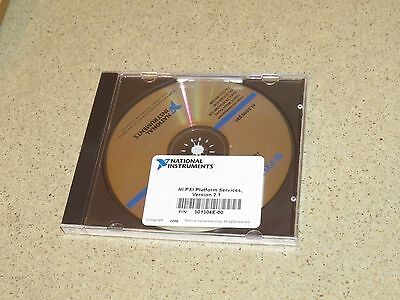 National Instruments Ni Pxi Platform Services Ver 2.1 P/n 501304E-00 -Sealed
