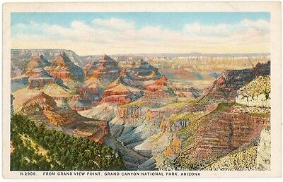 Fred Harvey View of the Grand Canyon