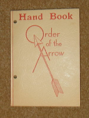 OA Handbook 1948 very good unused condition - 2 hole punched
