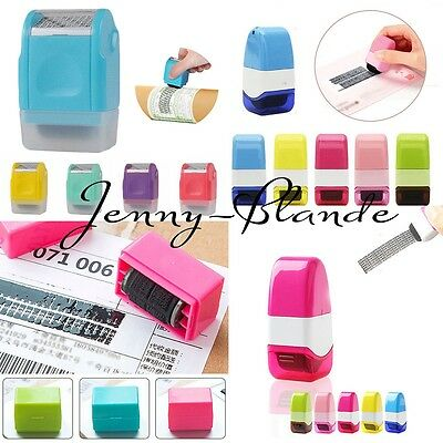 Guard Your ID Roller Stamp SelfInking Seals Messy Code Security Office Supplies