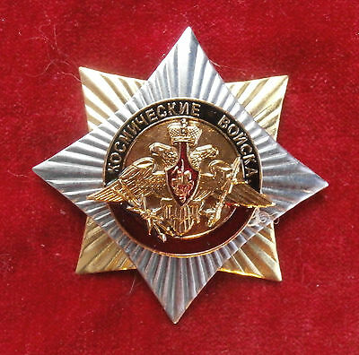 "Russian Badge-Award a star ""Russian Space Forces""(with an emblem of Space Force)"