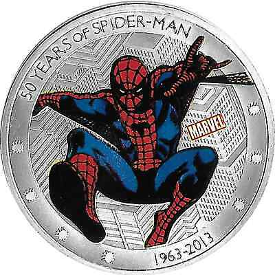 Médaille Marvel 50 Years of SPIDER-MAN Diam. 40mm   [mc39921]