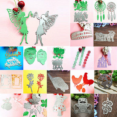 Metal Cutting Dies Stencil Scrapbook Paper Cards Craft Embossing DIY Die Cut BKB