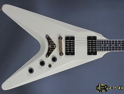 1982 Gibson Flying V2 - Alpine White - Dirty Finger PU´s RARE! MINT Condition !
