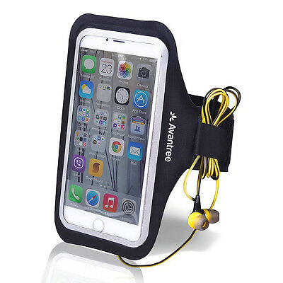 Avantree Trackpouch Sports Jogging Gym Workout Armband Case For iPhone Galaxy LG