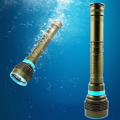 10000LM Underwater 200m 7x XM-L2 CREE LED Scuba Diving Flashlight Lamp Torch SN
