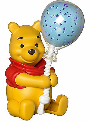 Tomy WINNIE THE POOH BALLOON LIGHTSHOW Baby Musical Sleep Aid Nightlight BN