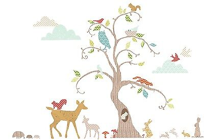 Suncrest FUNTOSEE WOODLAND WONDERLAND 76 WALL STICKERS Nursery Decoration BN