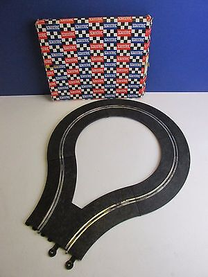rare vintage SCALEXTRIC CLASSIC BOXED hill climb/ dragster turn TRACK SET PT 73