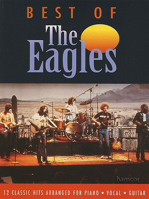 Best of the Eagles Piano Vocal Guitar Sheet Music Book