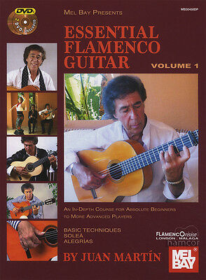 Essential Flamenco Guitar Volume 1 TAB Music Book/2DVDs by Juan Martin