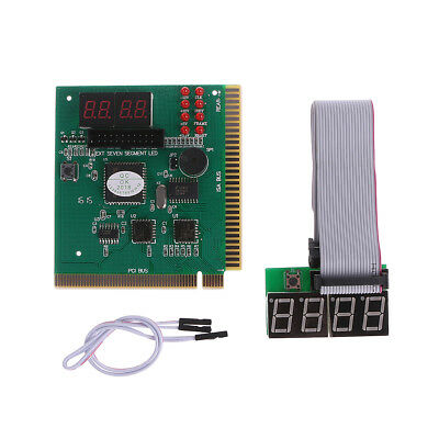 4 Digit PC ISA PCI  Analyzer Diagnostic Test Post Card