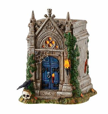 Department 56 Halloween Village 2016 Rest in Peace Crypt Figurine 4054250 New