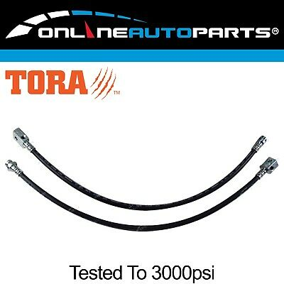 2 Extended Brake Lines Hose Set suit Patrol GU Y61 ZD30 Engine Spring Lift Long