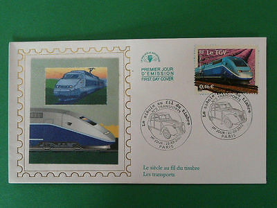 railroads train TGV FDC 38099