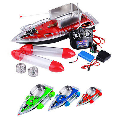 NEW! Remote Control RC Radio Bait Fish Finder Fishing Nest Lure Boat Ship Gadget