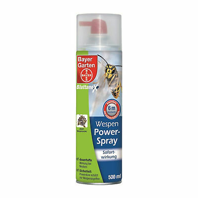 Bayer Wespen-Powerspray-500-ml-Wespen Spray Lucha Defensa de la avispa Veneno
