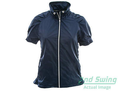 New Womens SUNICE Sophia x2o SS Windshirt X-Large XL Navy Blue MSRP $95 S53500