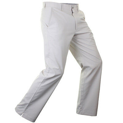 Callaway Golf Mens Chev Featherweight Tech Trousers - Silver Lining - 34-32