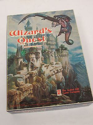 Complete Wizard's Quest by Avalon Hill Boxed Bookcase Game - FIS L83