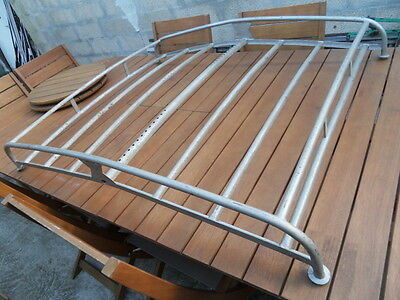 Galerie toit OLD Car roof rack ancienne voiture traction dauphine 4 Cv Simca !